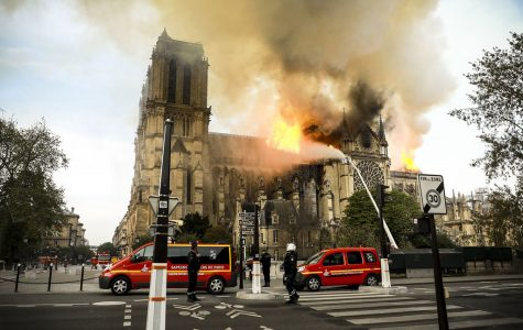 Notre Dame Cathedral Burns in Paris, France