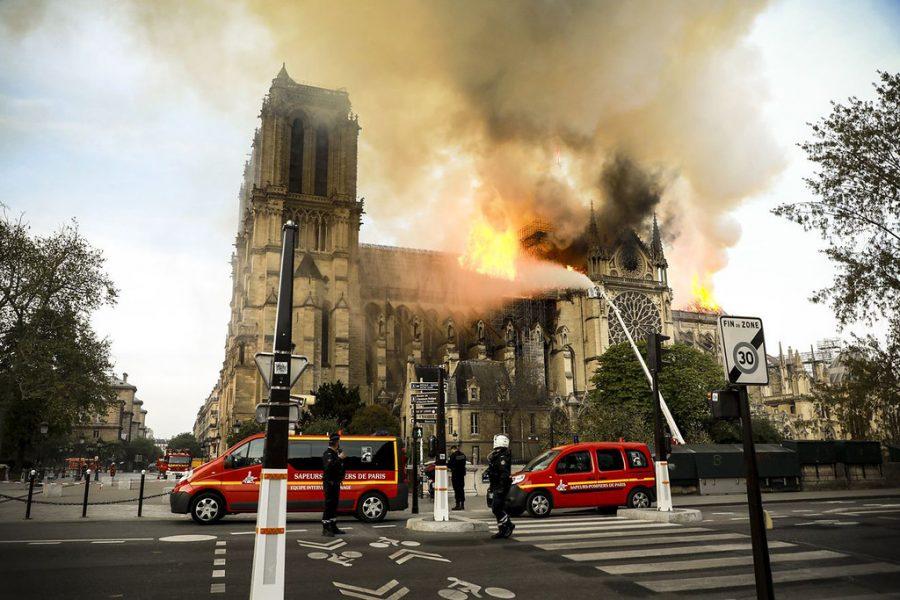Notre+Dame+Cathedral+Burns+in+Paris%2C+France