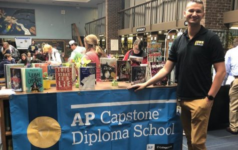 Mr. Ed Storck is the AP Capstone Research teacher.