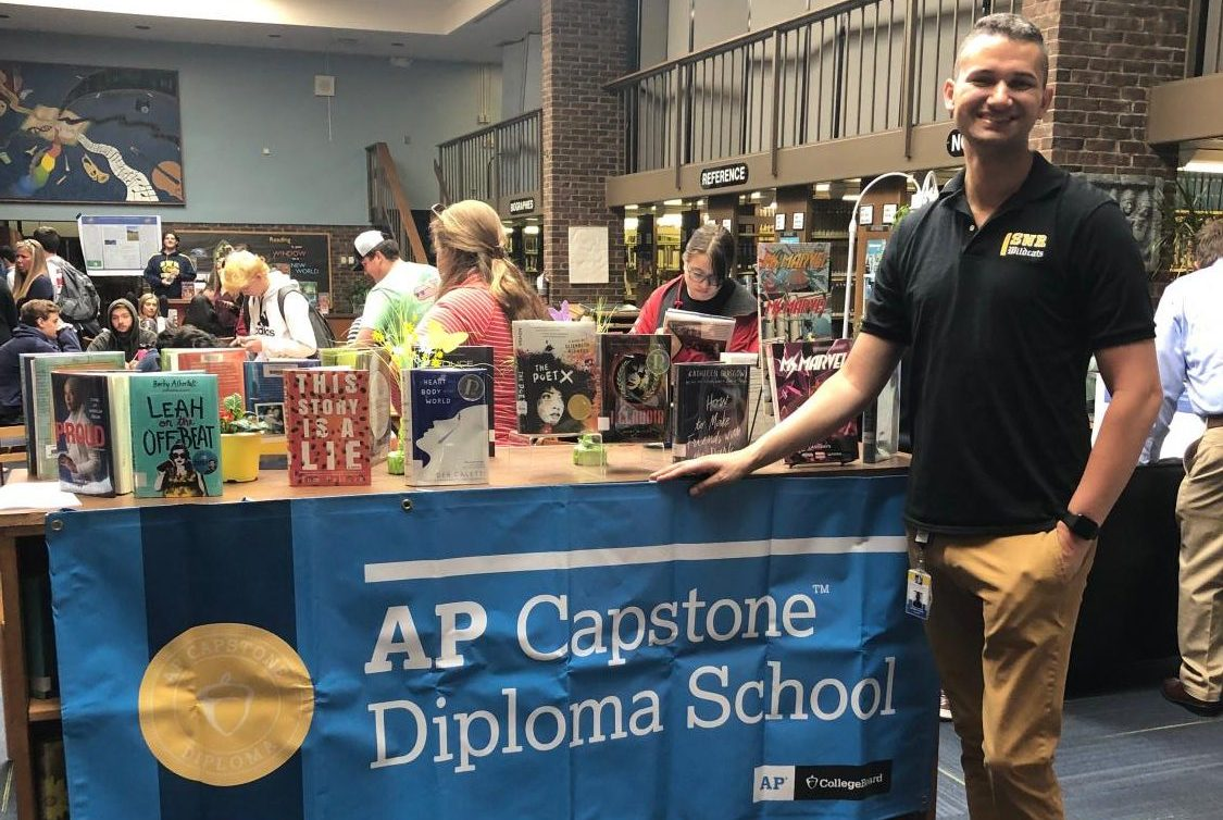 Photo Gallery: AP Capstone Students Present Year-Long Research Projects During Research Day